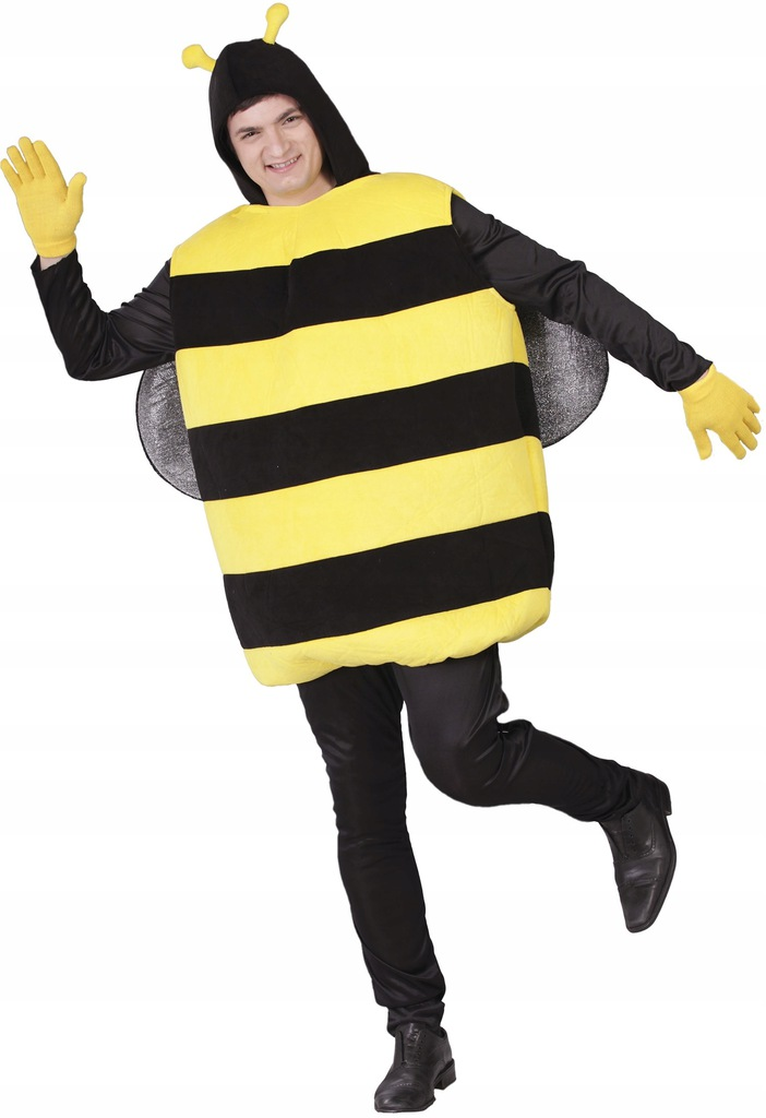Fiestas Guirca kostium Bij poliester czarny/żółty
