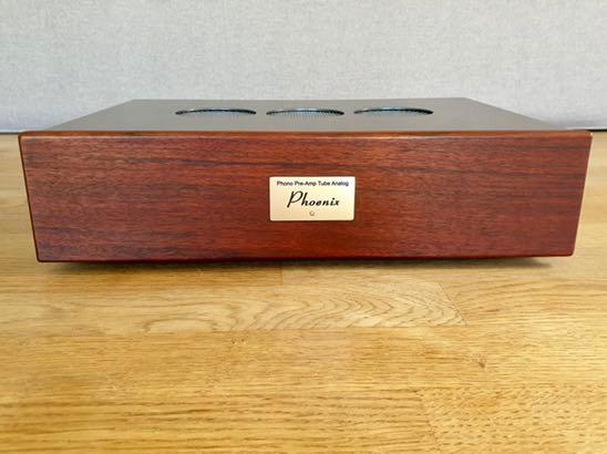 Lampowy przedwzmacniacz gramofonowy Phoenix preamp