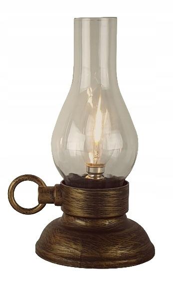 Lampka naftowa led imitacja Biwak Ogród