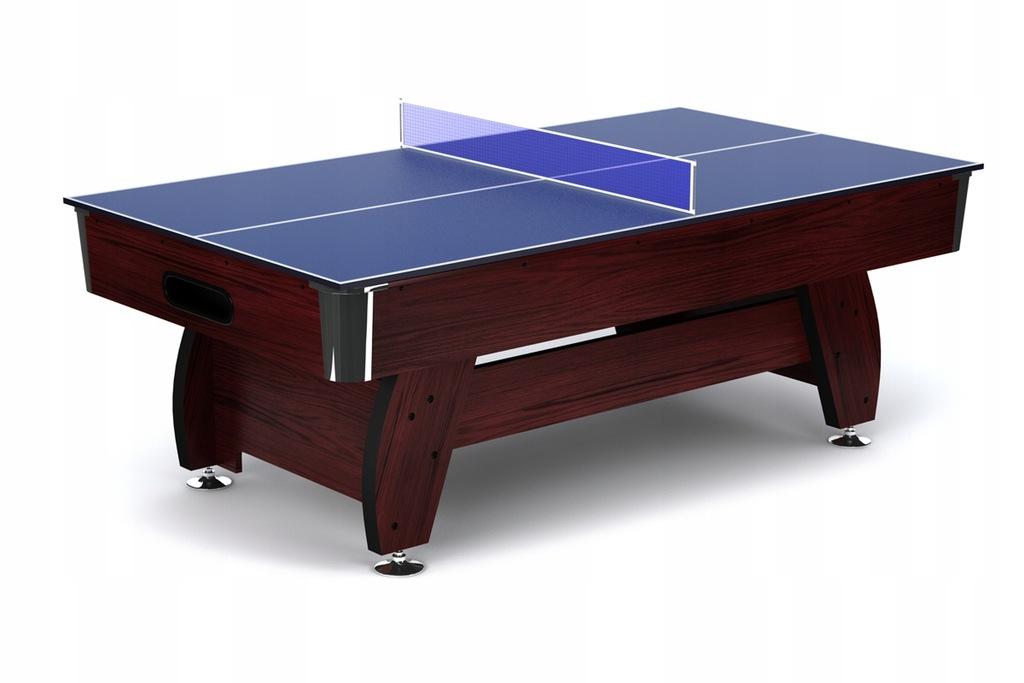 Nakładka Ping-Pong na stół bilardowy 8ft Wiśnia