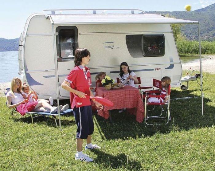 Roleta markiza Caravanstore 410 Royal Grey Fiamma
