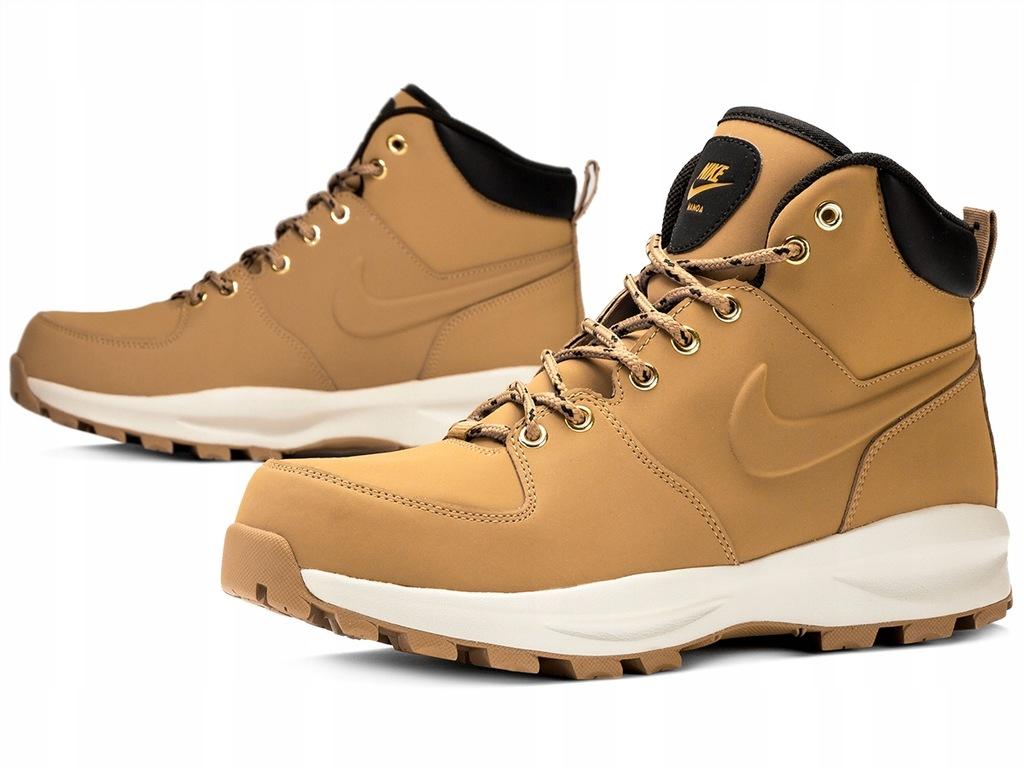 Nike Manoa Leather Męskie Brązowe (454350 700)