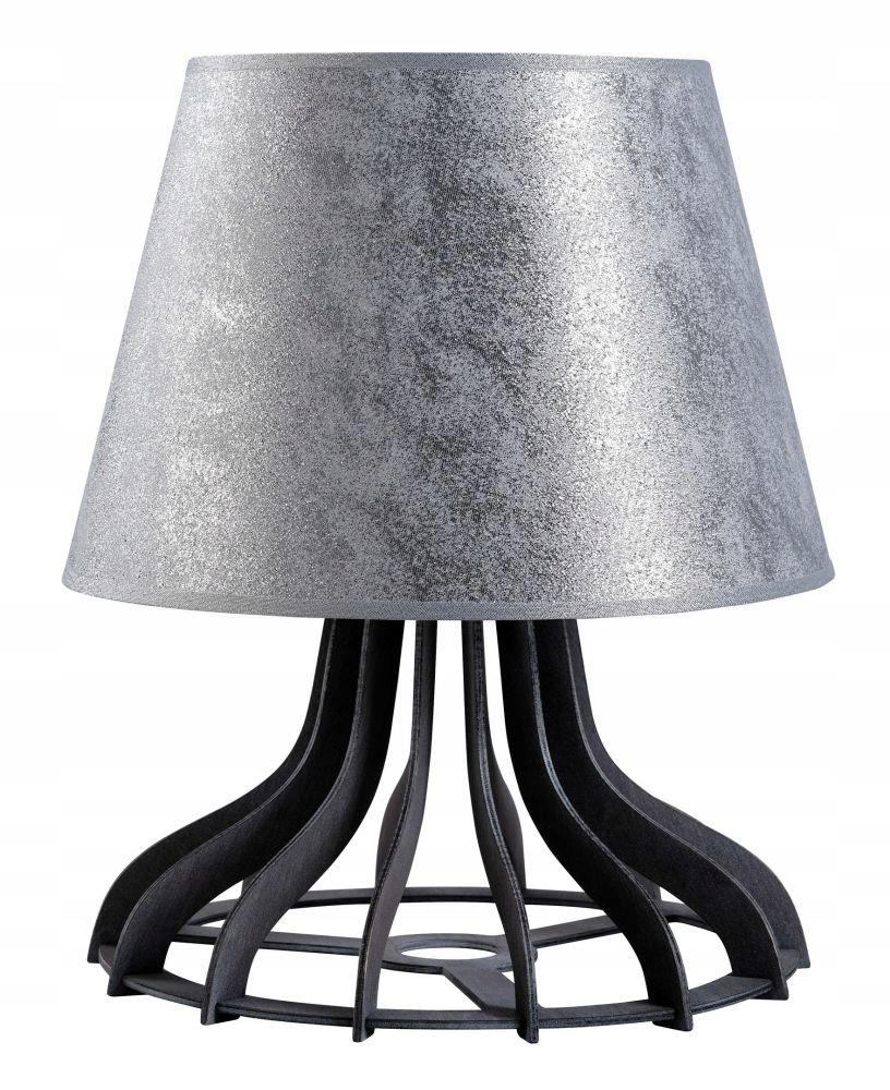 KETER LAMPKA NOCNA LUCIO SREBRNA 1XE27 60W 960