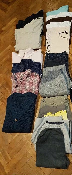 17 rzeczy męskich HILFIGER Kurtka Koszula Spodnie