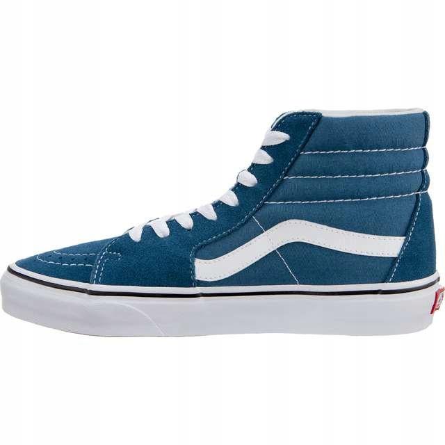 Niebieskie Buty Damskie Trampki Vans r.40