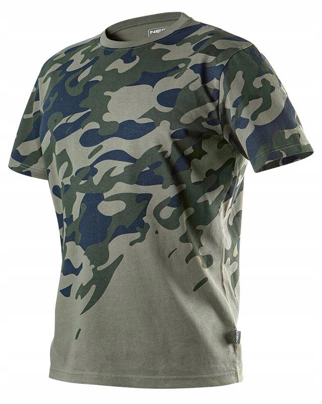 T-shirt roboczy moro CAMO, rozmiar M 81-613 NEO