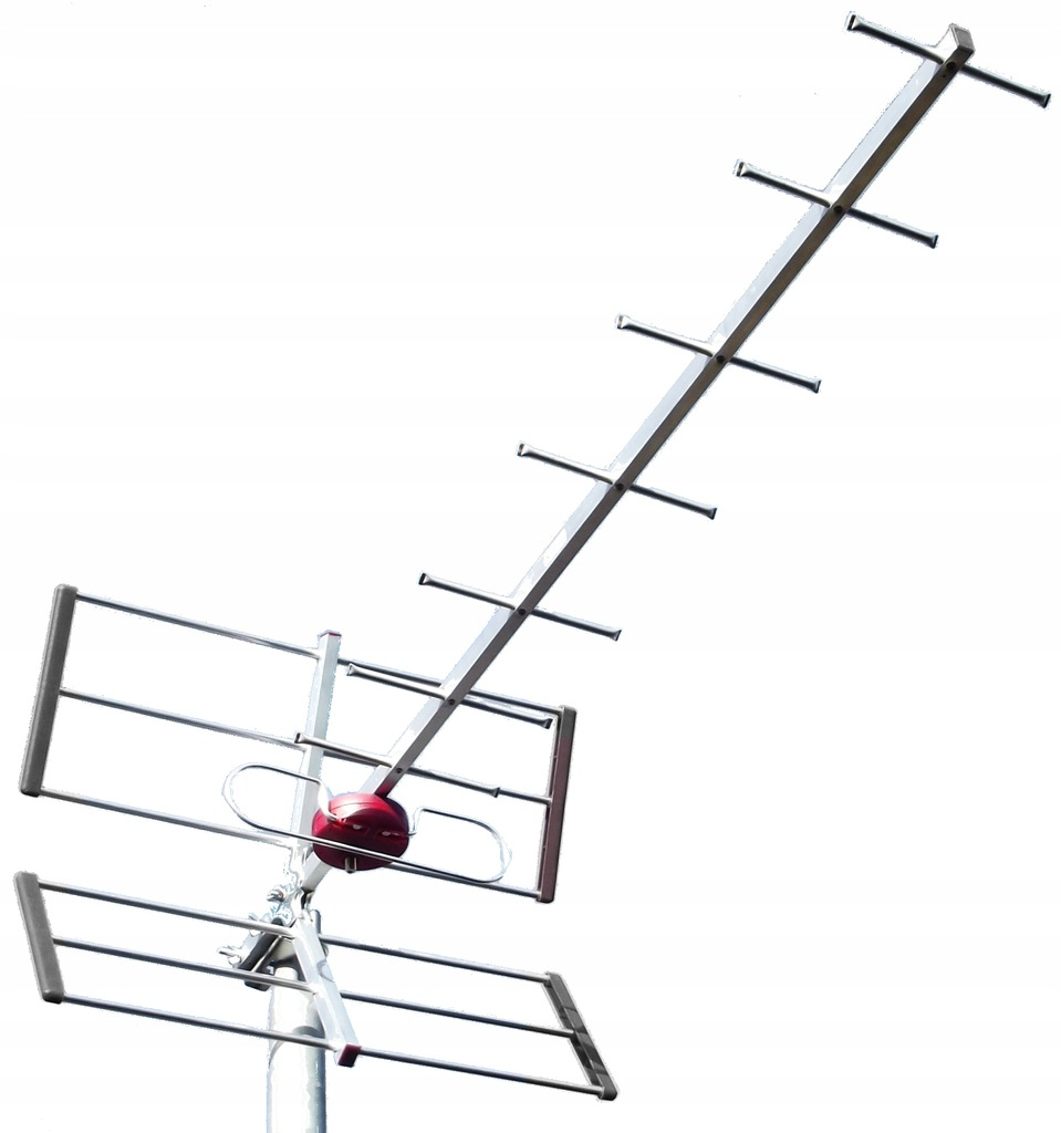 Antena Kierunkowa UHF DVBT Symetryzator Filtr LTE