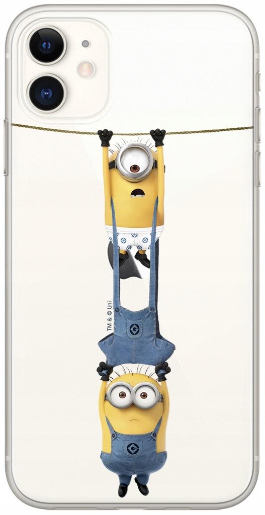 Etui Minionki 034 Samsung A20/A30 CZĘŚ Przeź