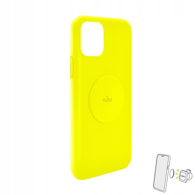 PURO ICON+ Cover - Etui magnetyczne iPhone 11 (flu