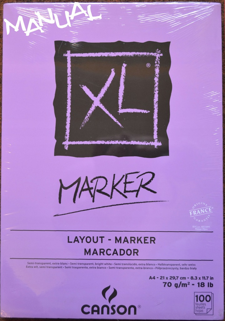 Blok 70g 100k A4 CANSON MARKER XL