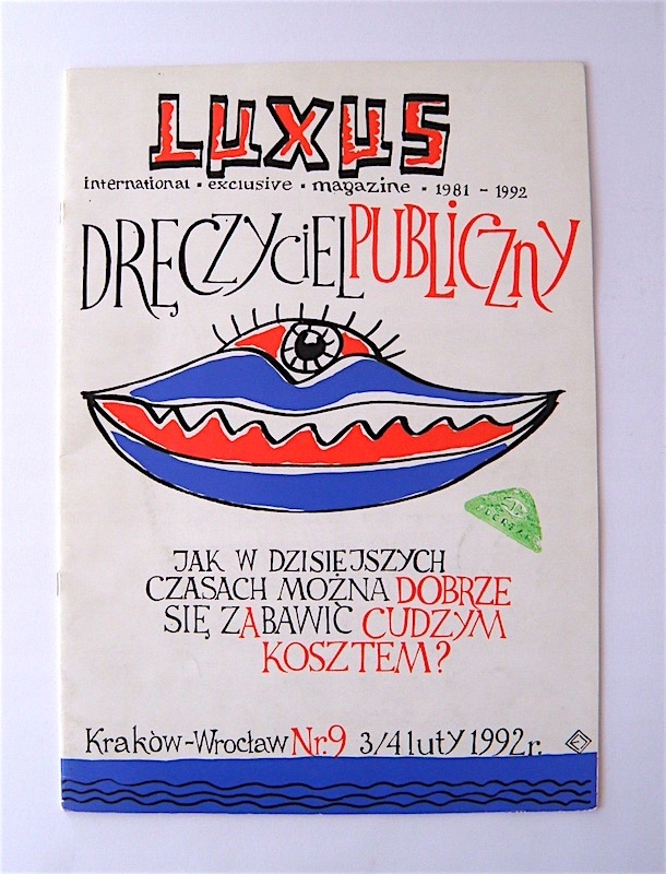 MAGAZYN LUXUS Nr. 9 / 1992 - SITODRUK