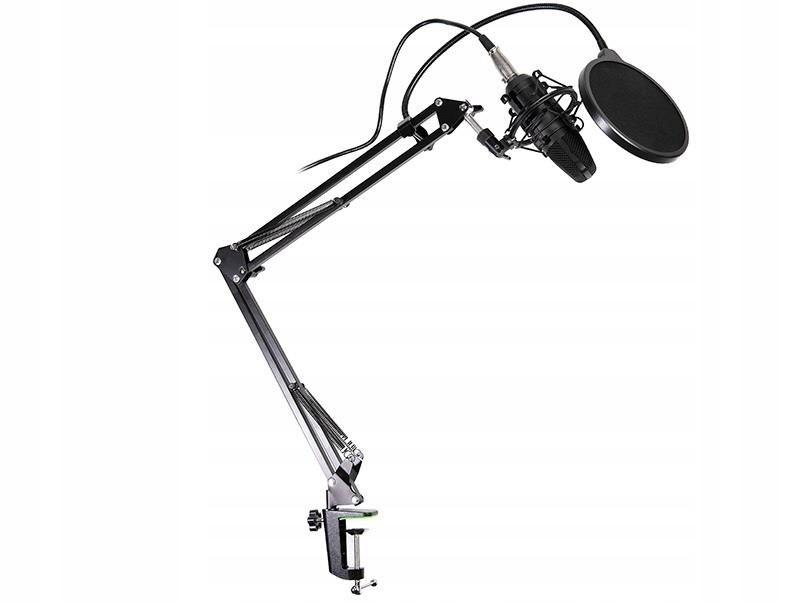 Zestaw mikrofon pojemnościowy + popfilter Tracer S