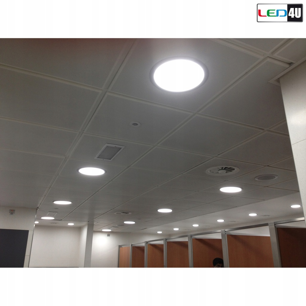 Panel LED sufitowy podtynkowy slim 6W Cold white 5