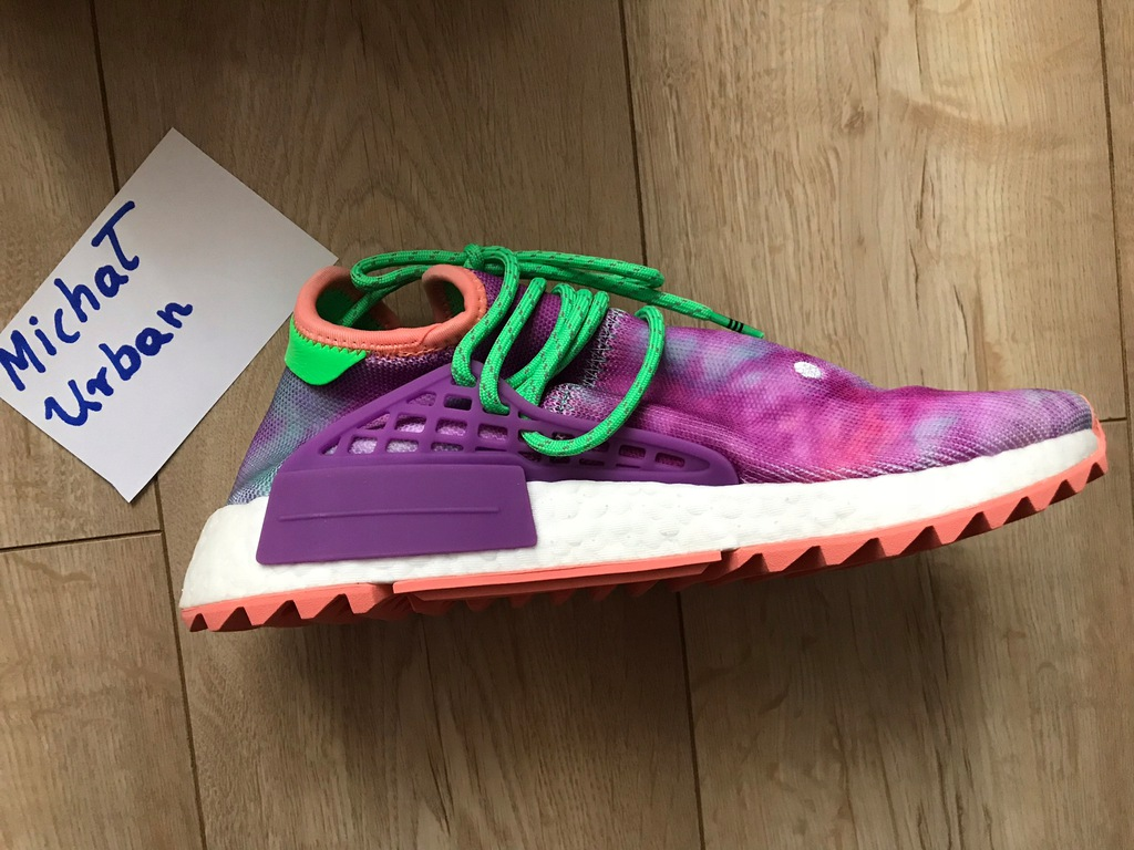 Buty Adidas Pharrell Williams Human Race NMD Coral