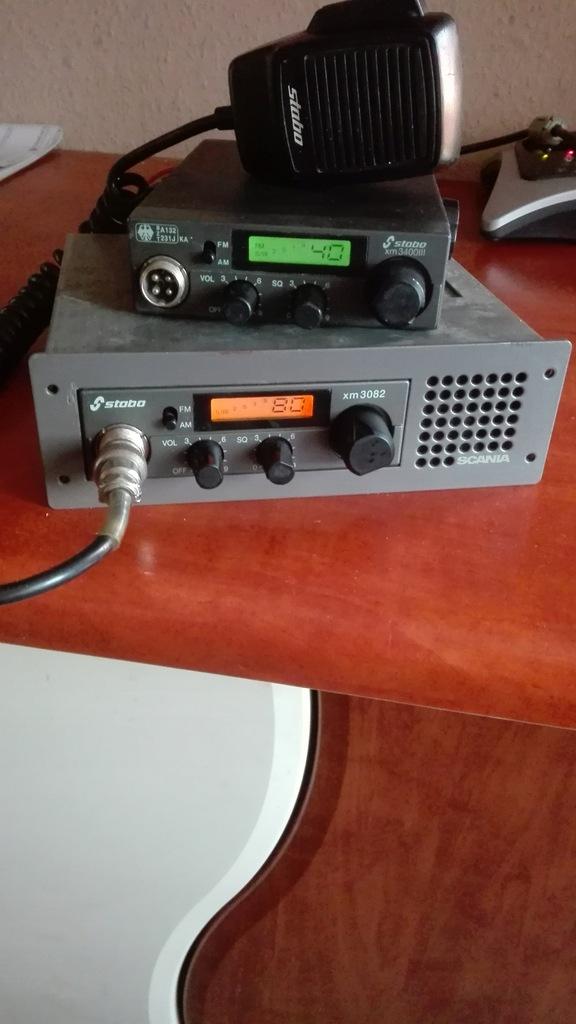 STABO XM-3082+3400+kieszeń din-1