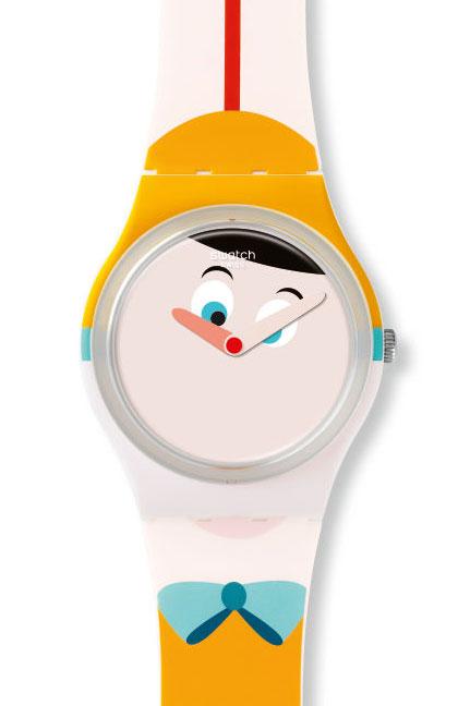 Zegarek Swatch NASO LUNGO GW176