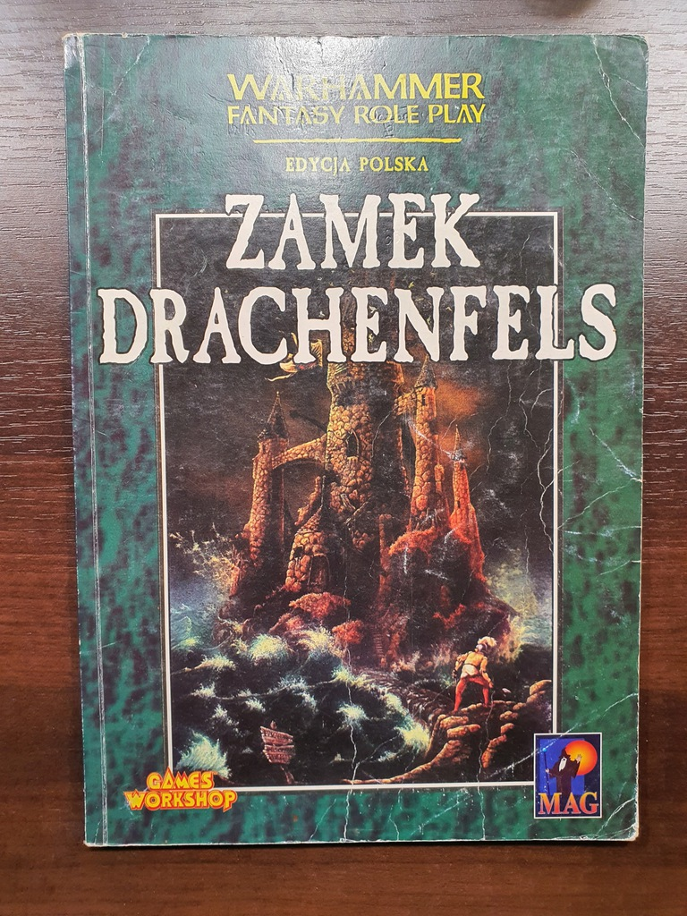 ZAMEK DRACHENFELS - Warhammer RPG - 1 edycja PL