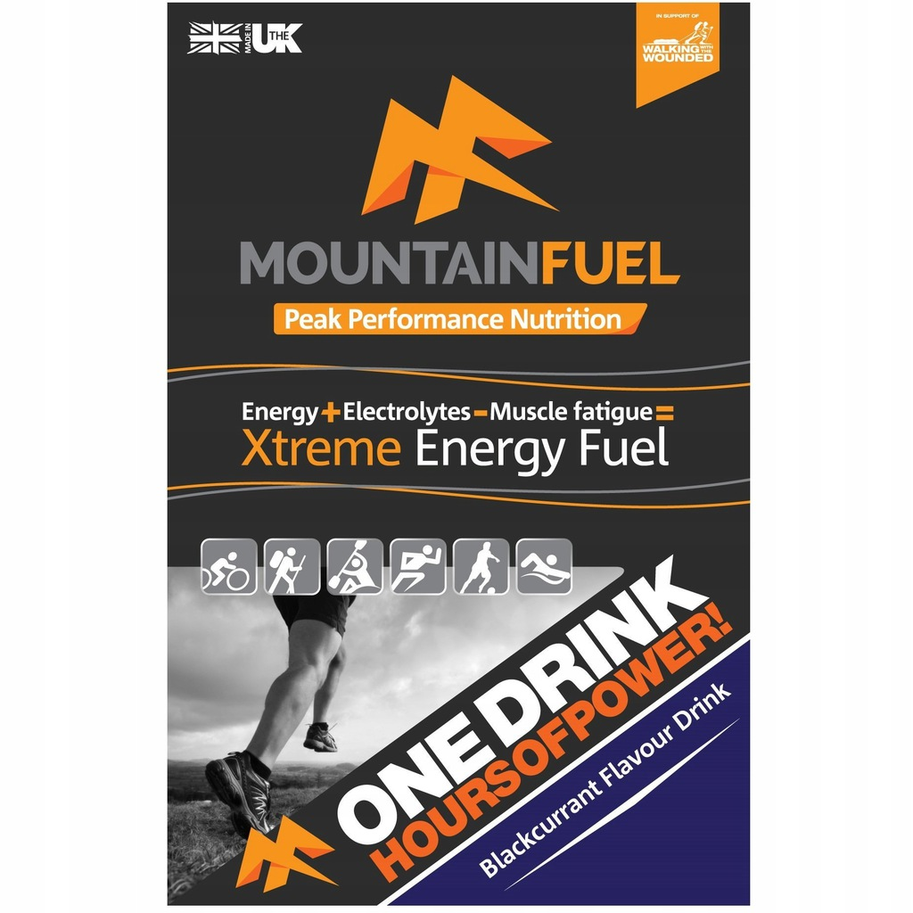 Iztonik Mountain Fuel Xtreme Energy Porzeczka 180k