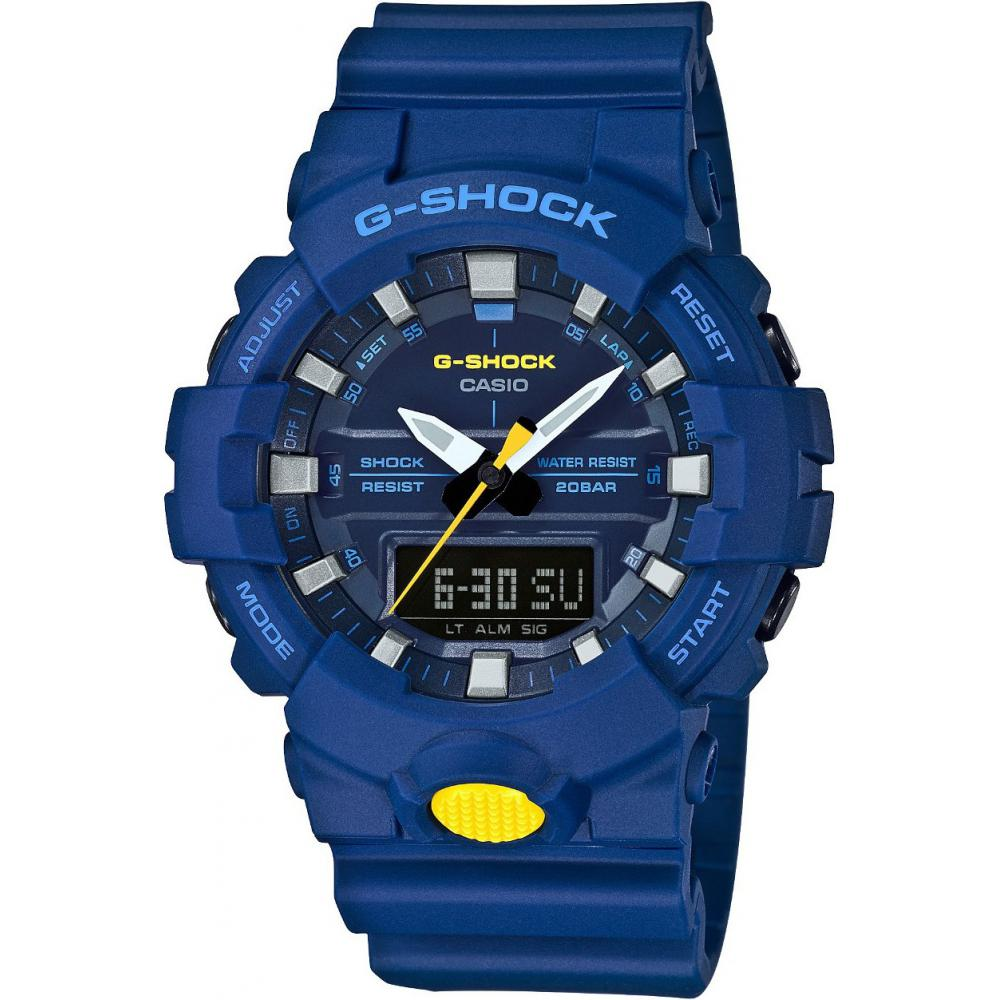 Zegarek męski G-Shock GA-800SC-2A+Grawer +GRATIS