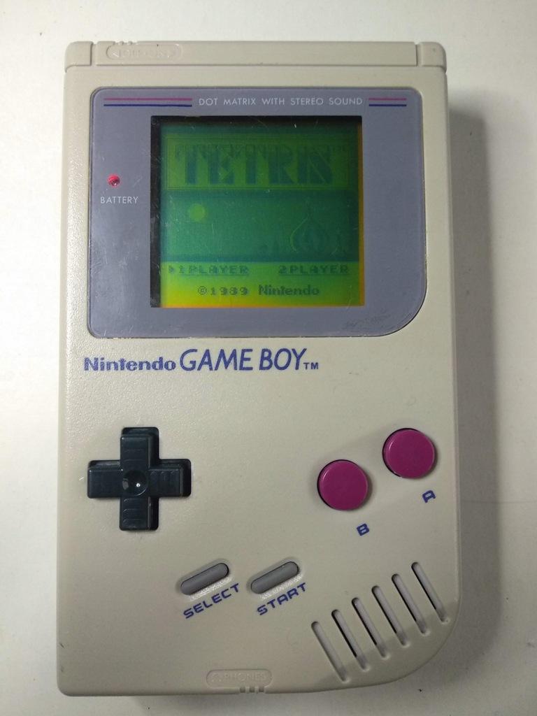 Nintendo Game Boy Classic oryginał z Tetrisem
