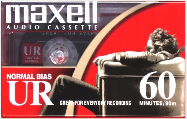 Maxell UR 60 2002r. NOWA