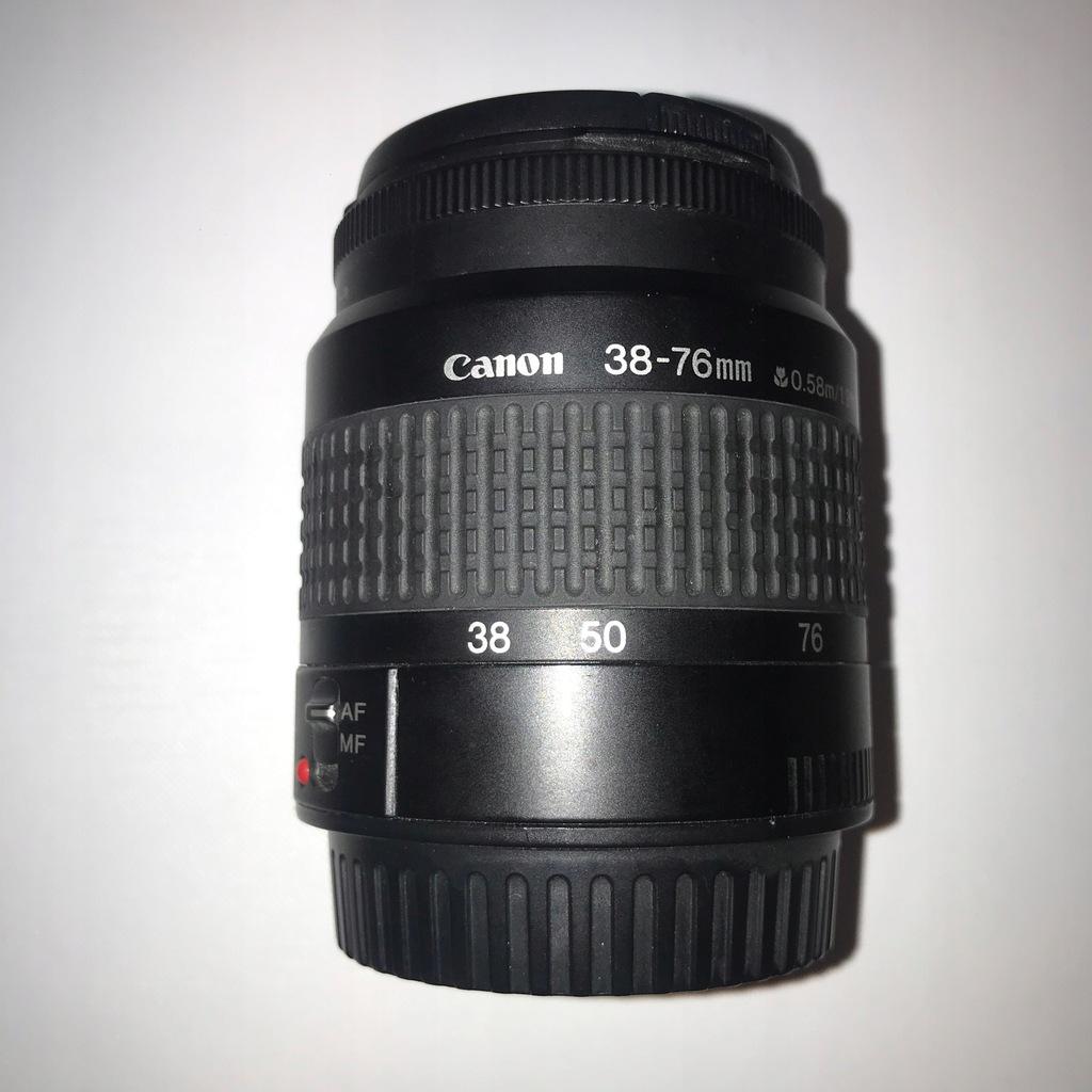 Obiektyw Canon EF 38-76 mm f/4.5-5.6