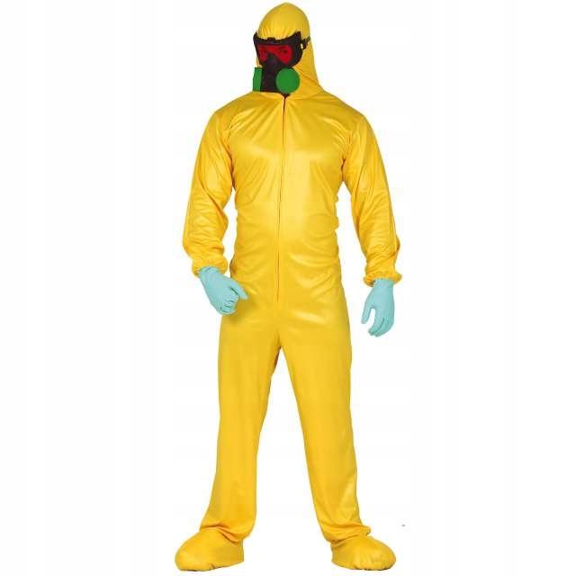 strój PRZECIWCHEMICZNY kostium chemik halloween M