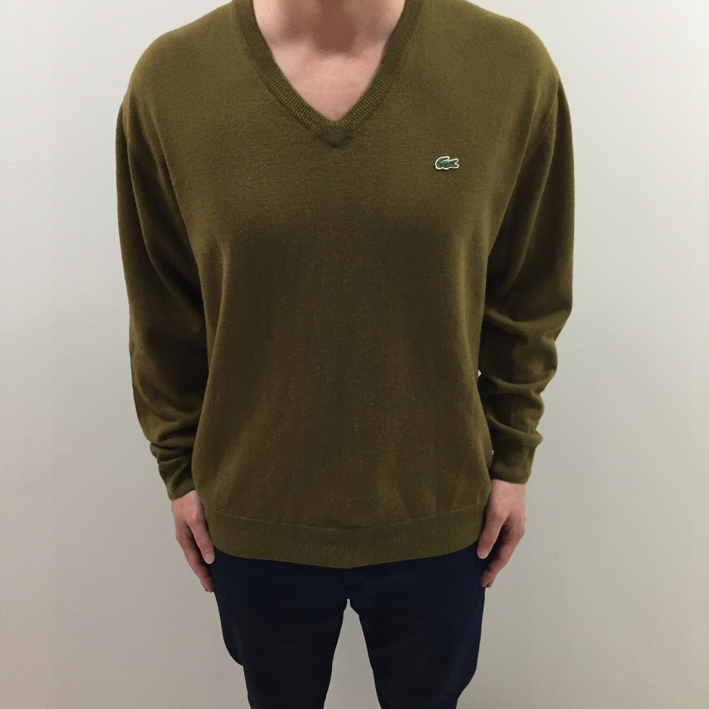 LACOSTE SWETER XL