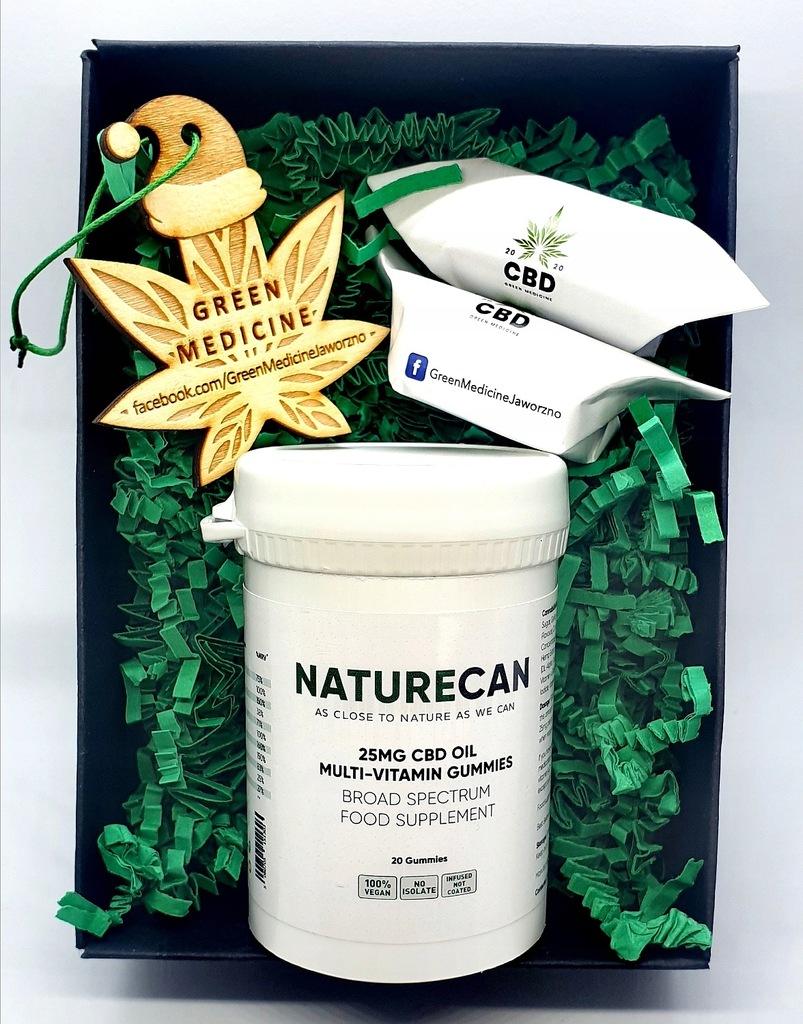 PREZENT!!! Naturecan CBD Oil Vitamin Gummies 25mg