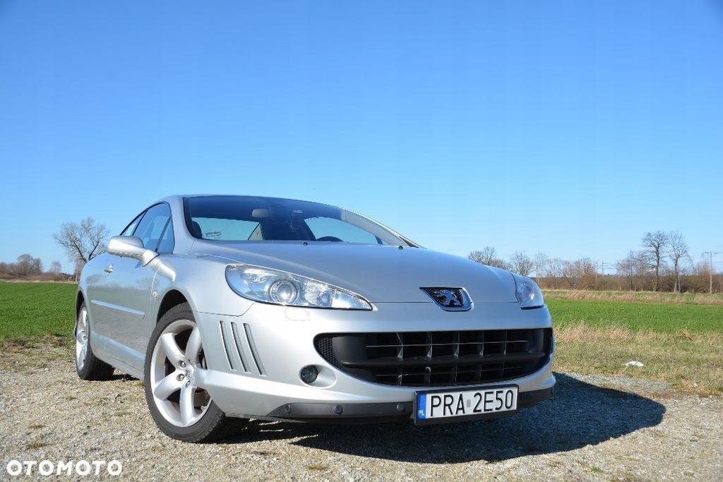Peugeot 407 Coupe 3 0 V6 211 Km Manual 9335938946 Oficjalne Archiwum Allegro
