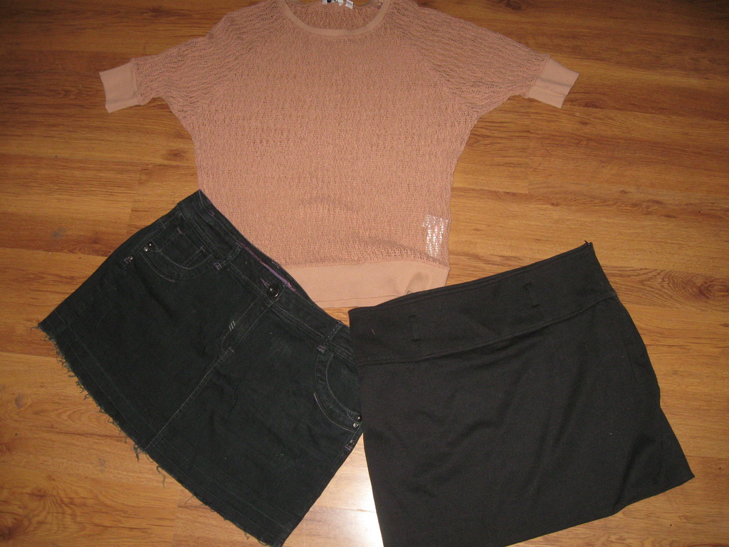 NEW LOOK - CHEROKEE - bluzka i spódnice roz.L
