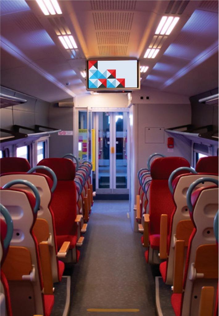 Przeprowadzenie kampanii reklamowej w pociągach KW