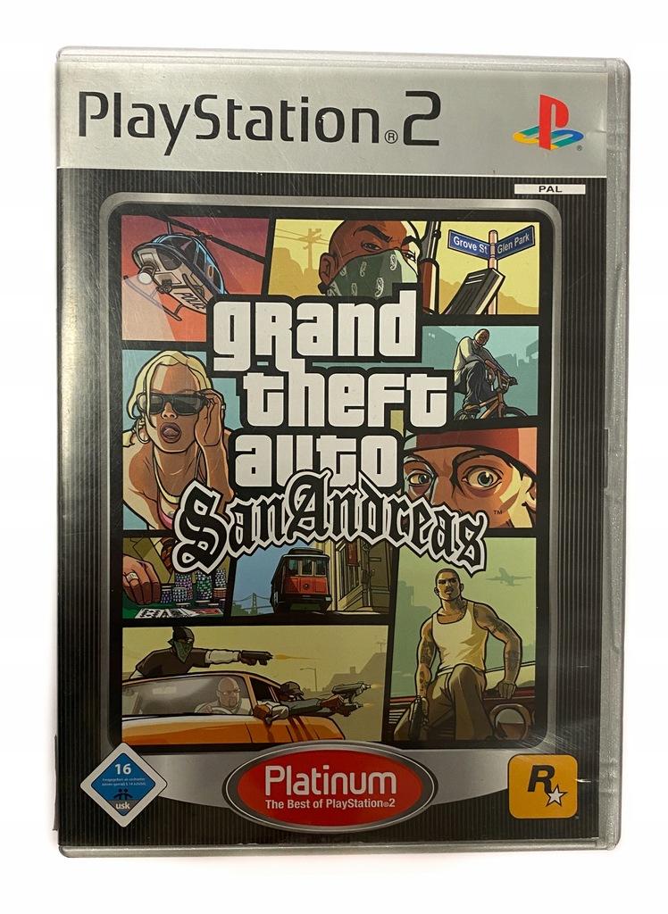 Gta San Andreas Grand Theft Auto Gra Ps2 9935826284 Oficjalne Archiwum Allegro