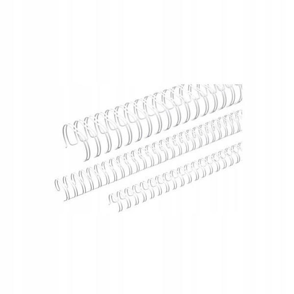 RENZ RING WIRE 12,7mm 3:1 34 LOOPS WHITE 100 SZT