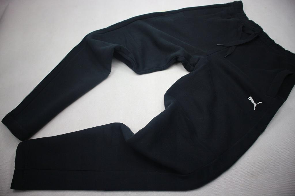 Puma spodnie dresowe joggersy bawełna M
