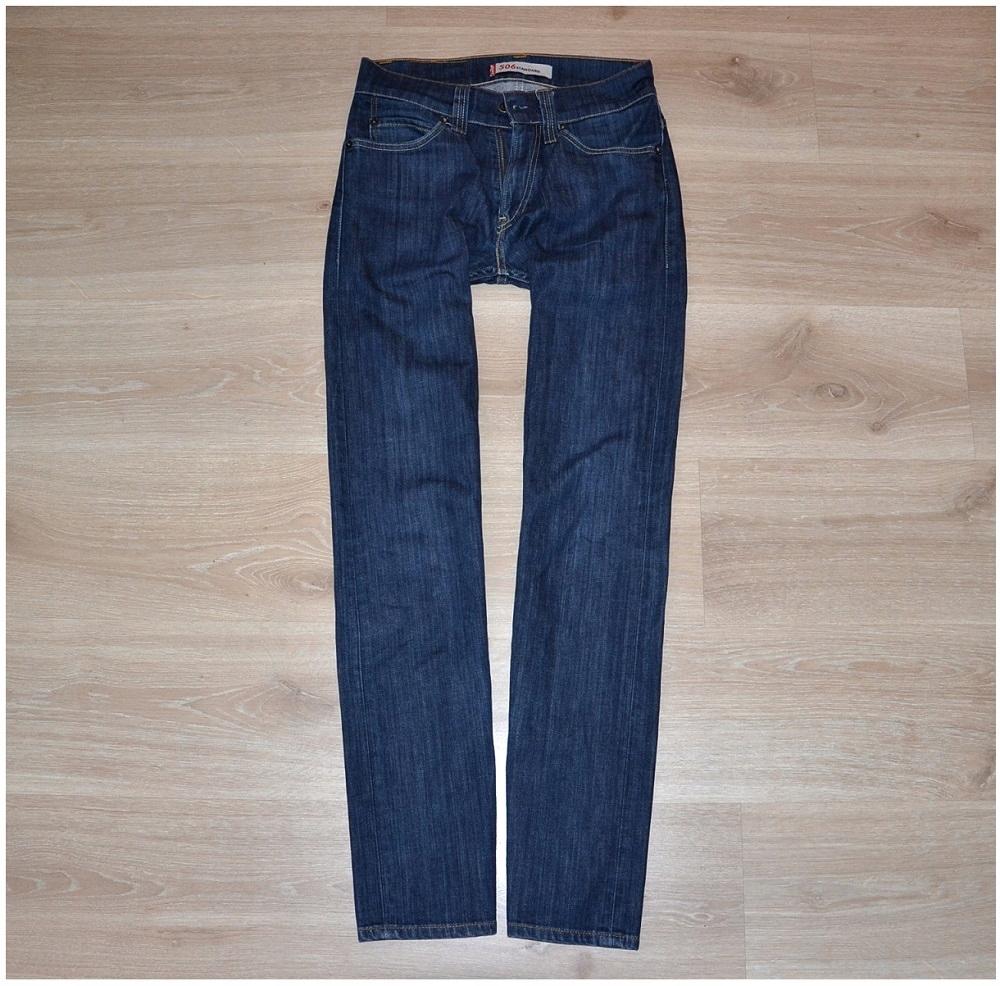 Levis 506 jeans spodnie meskie W28 L32 Pas-74 cm.