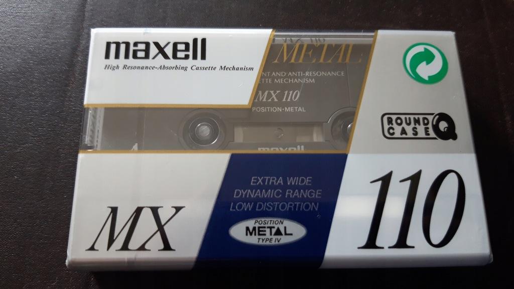 Maxell MX 110 metal * type IV * folia * NOS