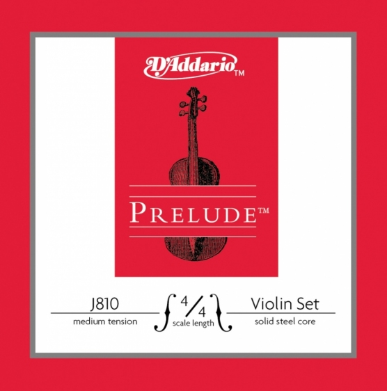 D'Addario Prelude J810 - struny do skrzypiec 4/4