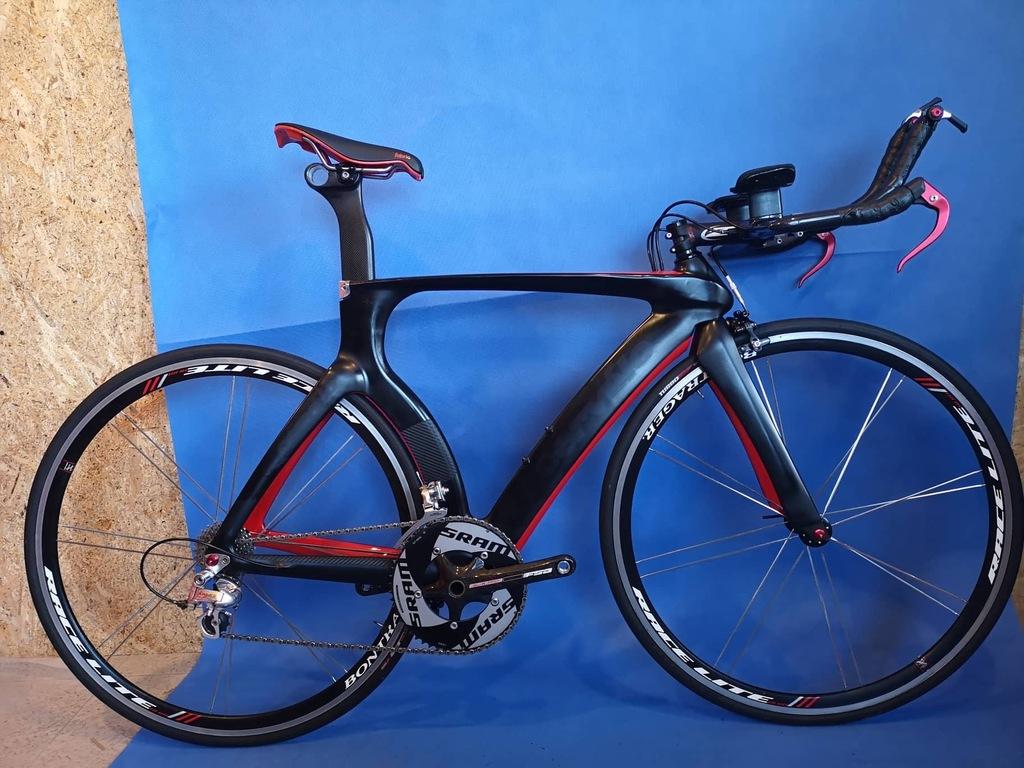 Rower czasowy TT triathlon rozmiar 52 full carbon