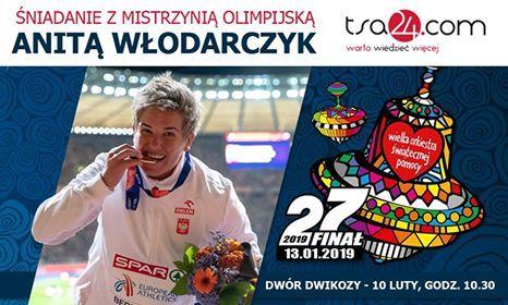 Śniadanie z mistrzynią olimpijską Anitą Włodarczyk