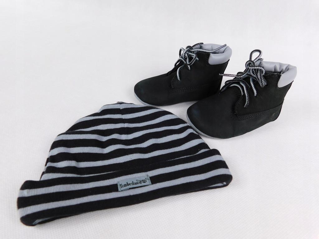 Timberland buciki niemowlęce 18,5 czapka
