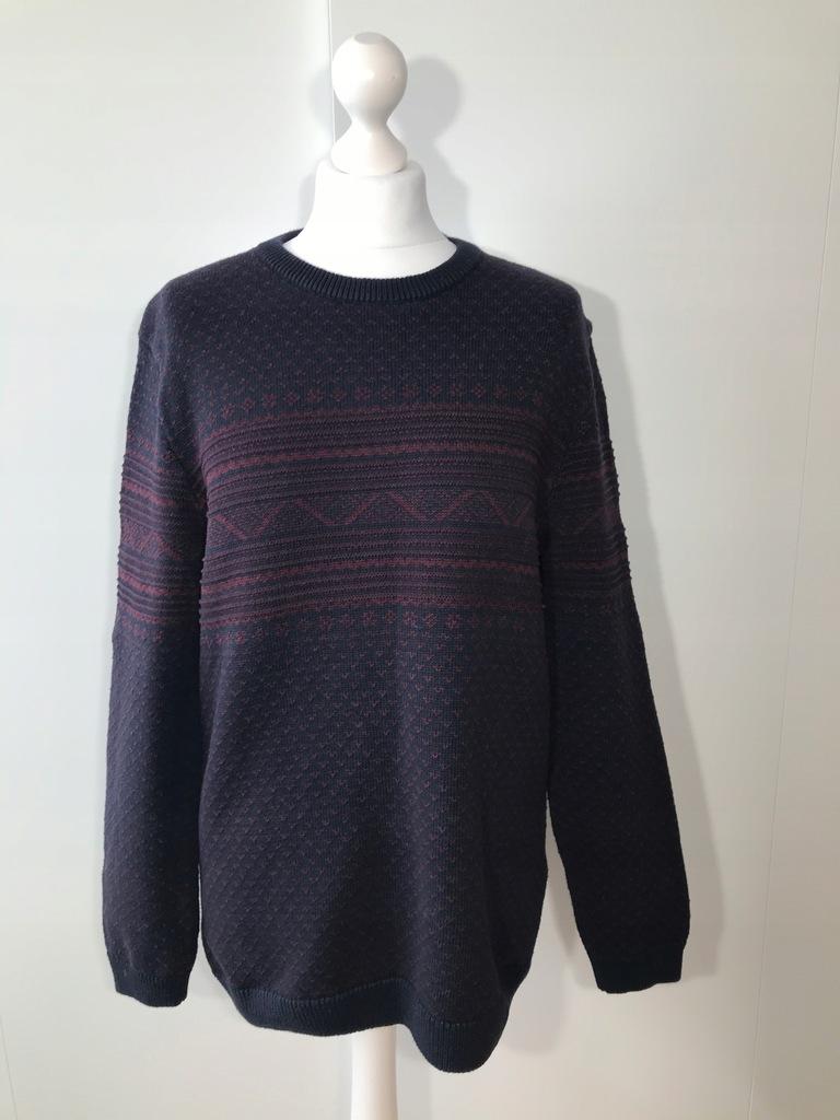 Sweter męski MCNEAL L fioletowy