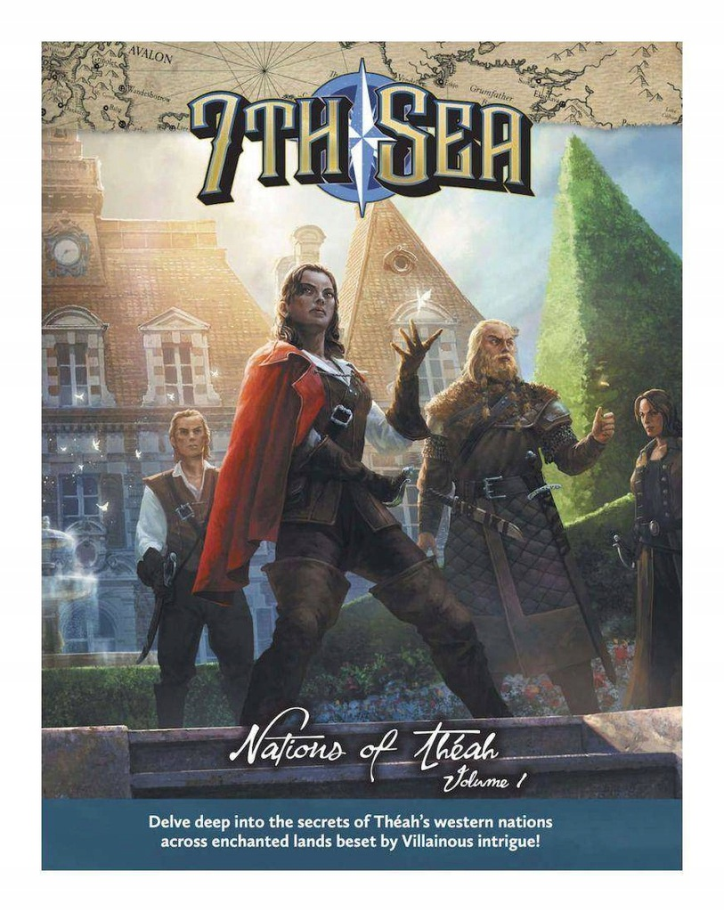 7th Sea RPG Nations of Theah - Vol. 1