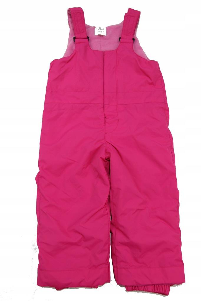 Spodnie ocieplane narciarskie r 92 (C2088)