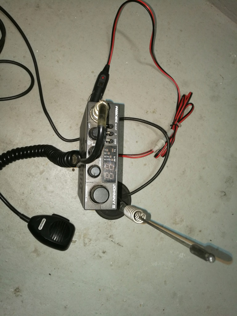 Cb Radio Johnny II + antena