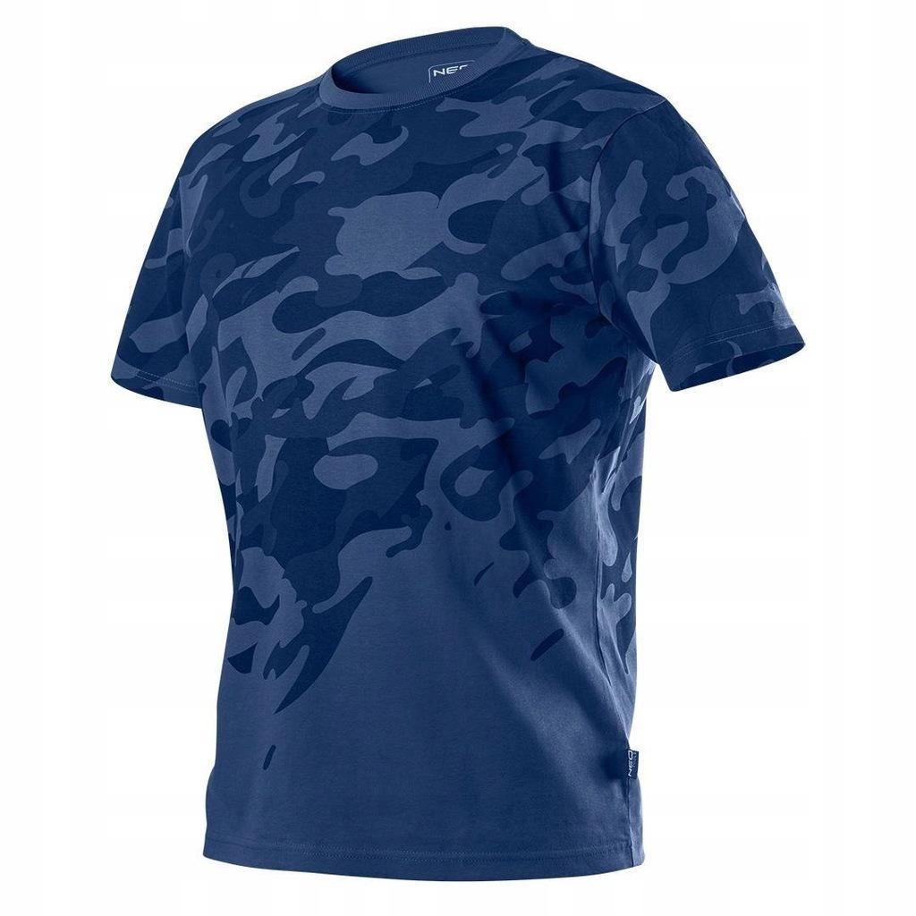 T-shirt roboczy Camo Navy rozmiar S 81-603 Neo
