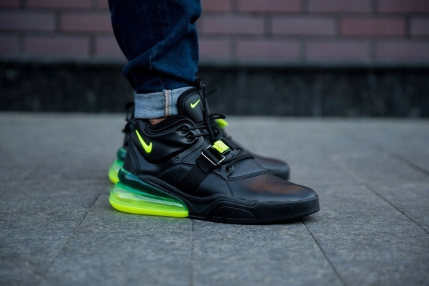 Nike Air Force 25 BlackGreen Pictures