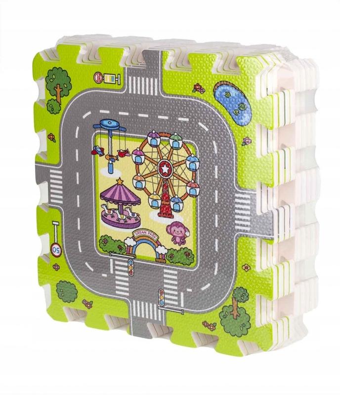 Mata duże puzzle piankowe dla dzieci ulica