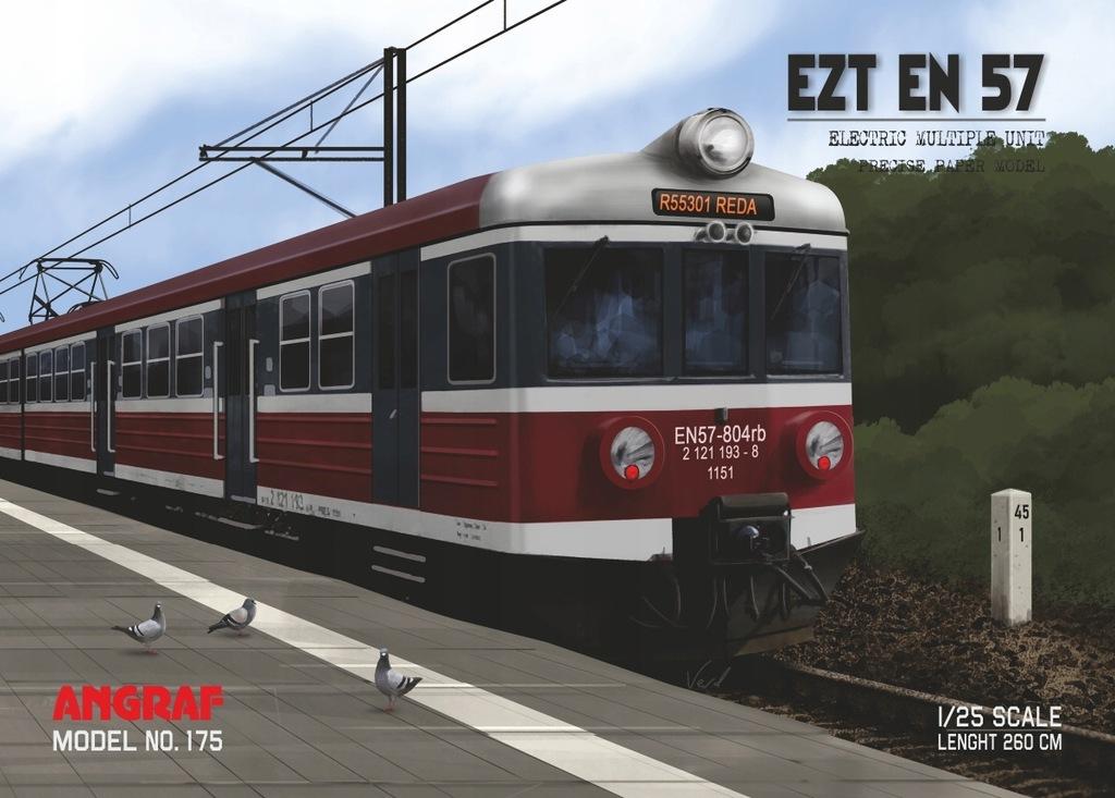 EZT EN 57 Przewozy Regionalne, Angraf Model, 1/25