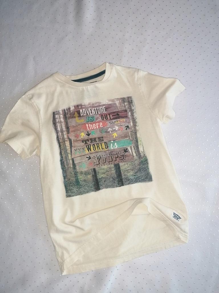 Świetna koszulka M&S 7-8 strzałki